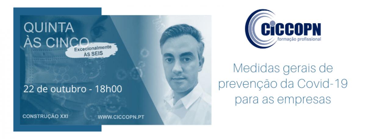 Divulgação // Medidas gerais de prevenção da Covid-19 nas empresas