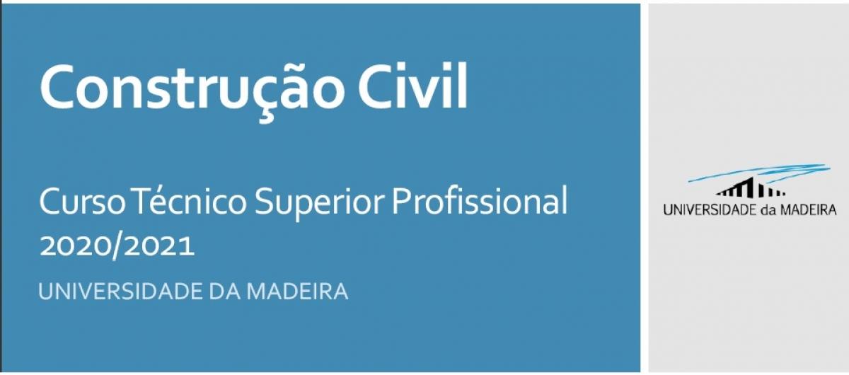 Protocolo CTeSP de Construção Civil - Universidade da Madeira