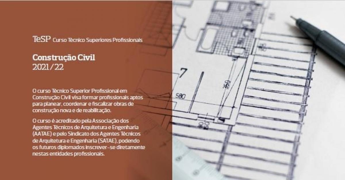 [UAlg / ISE / DEC] Curso Técnico Superior Profissional em Construção Civil