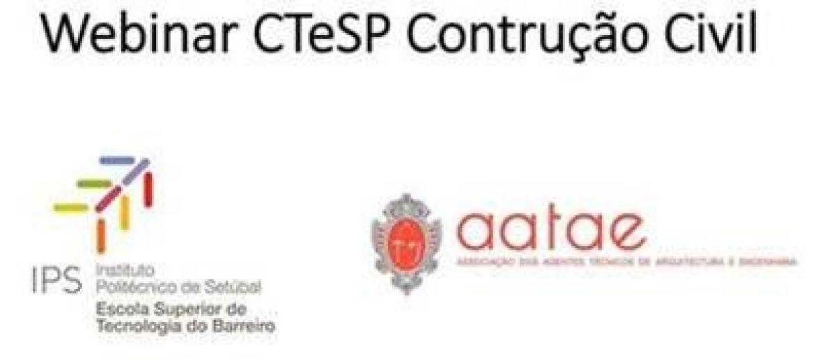 Webinar AATAE - Escola Superior de Tecnologia do Barreiro do Instituto Politécnico de Setúbal