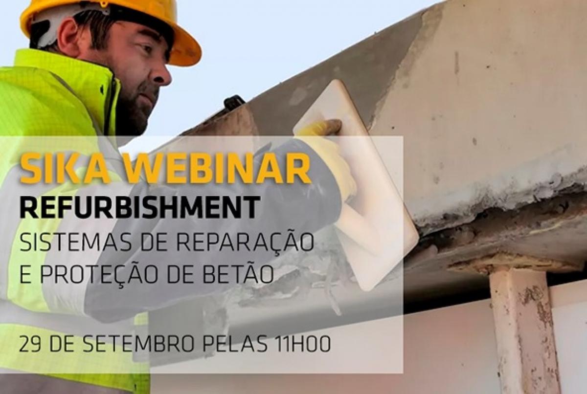 Webinar Sistemas de Reparação e Proteção do Betão