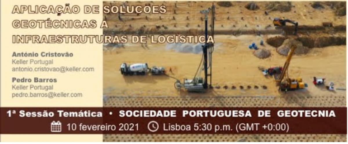 Webinar - SPG - Soluções Geotécnicas para Infraestruturas de Logística